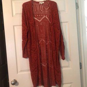 Kiki La 'Rue 1/2X Crochet Cardigan